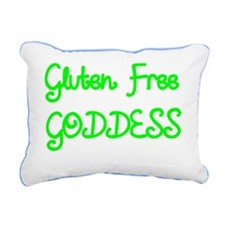 GLUTEN FREE GODDESS 2 Rectangular Canvas Pillow
