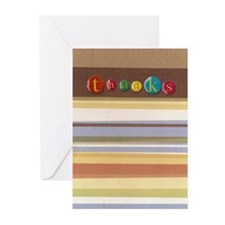 Thanks Greeting Cards (Pk of 10)