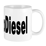 I Love BioDiesel Small Mug