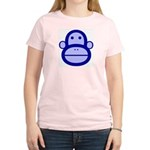 Monkey Women's Pink T-Shirt
