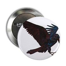 "Odin's Raven 2.25"" Button"