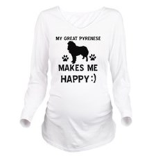 My Great Pyrenese Ma Long Sleeve Maternity T-Shirt