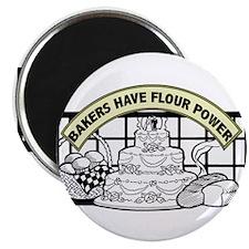 Flour Power Magnet