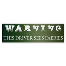 Faeries Bumper Bumper Sticker