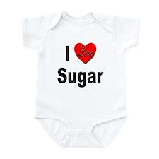 I Love Sugar Infant Bodysuit