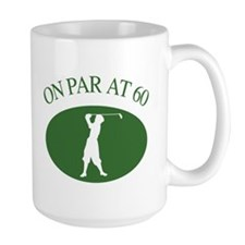 Golfer's 60th Birthday Mug