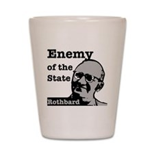 Enemy of the State - Rothbard Shot Glass