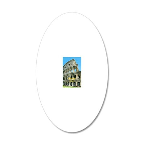 Rome_5X7_Card_v2_Colosseum 20x12 Oval Wall Decal