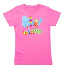 candy circus boy- png Girl's Tee
