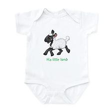 His Little Lamb Infant Bodysuit