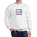 Grandma of Twins (Girl, Boy) Sweatshirt
