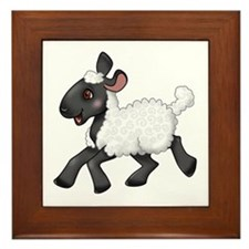 Little Lamb Framed Tile