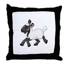 Little Lamb Throw Pillow