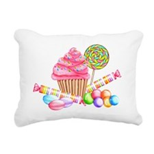 Wonderland Sweets Rectangular Canvas Pillow