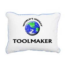 World's Sexiest Toolmake Rectangular Canvas Pillow