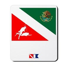 Dive Mexico Mousepad