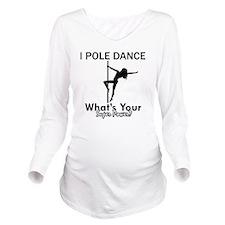 Poledance designs Long Sleeve Maternity T-Shirt
