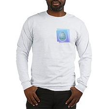 BLUE EASTER EGG Long Sleeve T-Shirt