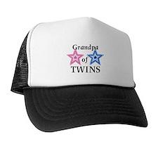 Grandpa of Twins (Girl, Boy) Trucker Hat