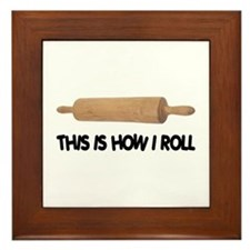 How I Roll Baking Framed Tile