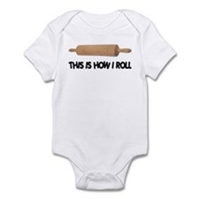 How I Roll Baking Infant Bodysuit