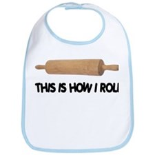 How I Roll Baking Bib
