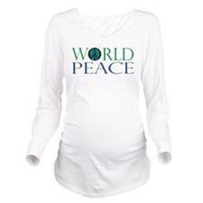 World Peace Full Whiteshirt.png Long Sleeve Matern