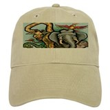 Cute Zoo worker Baseball Cap