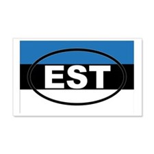 Estonia - EST - European Wall Decal