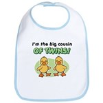 Big cousin of twins - Ducks Bib