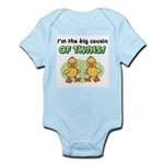 Big cousin of twins - Ducks Infant Bodysuit