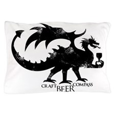 Dragon - Craft Beer Compass Pillow Case