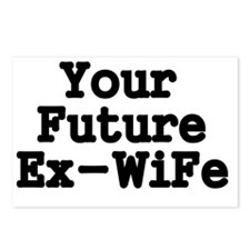 Your Future Ex-Wife Postcards (Package of 8)