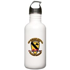 Army - 1st Cav Div w Afghan Svc Sports Water Bottle