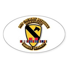 Army - 1st Cav Div w Afghan Svc Decal