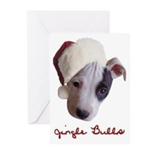 Jingle Bulls Greeting Cards