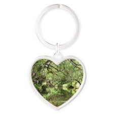 Turkey Creek Wildlife Heart Keychain
