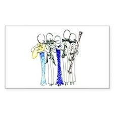 woodwind quintet Decal