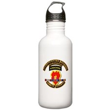 Army - 25th ID w Afghan Svc Sports Water Bottle