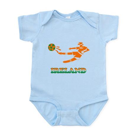 Irish Soccer Player Infant Bodysuit