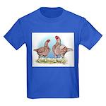 Cornish Chickens WLRed Kids Dark T-Shirt