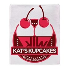 Kat's Kupcakes Throw Blanket