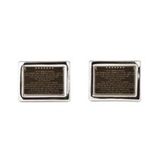 Soldiers creed Cufflinks