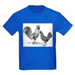 California Grey Chickens Kids Dark T-Shirt