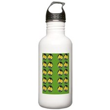 Painted Yellow Peruvia Water Bottle