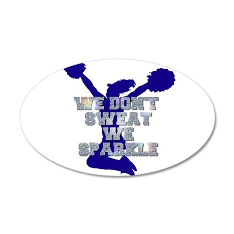 Cheerleader we sparkle Wall Decal
