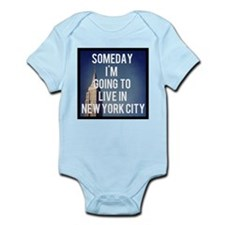 Cute Empire state Infant Bodysuit
