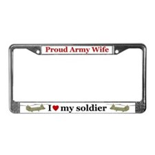 Cute Kiowa License Plate Frame