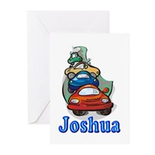 Joshua Cars Greeting Cards (Pk of 10)