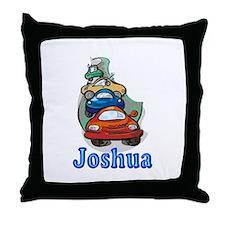 Joshua Cars Throw Pillow